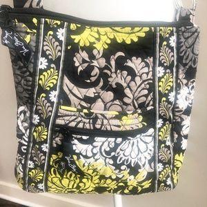 Vera Bradley Crossbody Baroque Pattern Purse